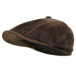 7fd3a306 Stetson Caps   Hatteras Woolrich Herringbone Newsboy Hat