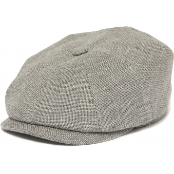 Hatteras Ellington Flat Cap- Grey