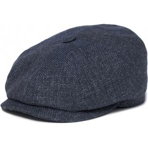 6d7200265 Stetson Grey Hatteras Linen Newsboy Cap | Dandy fellow