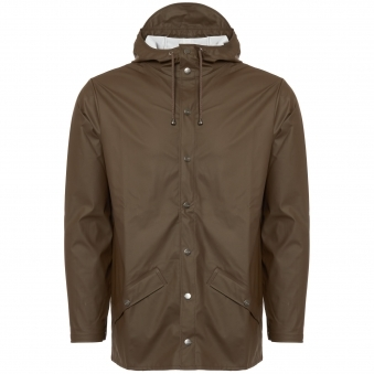 Brown Hooded Jacket