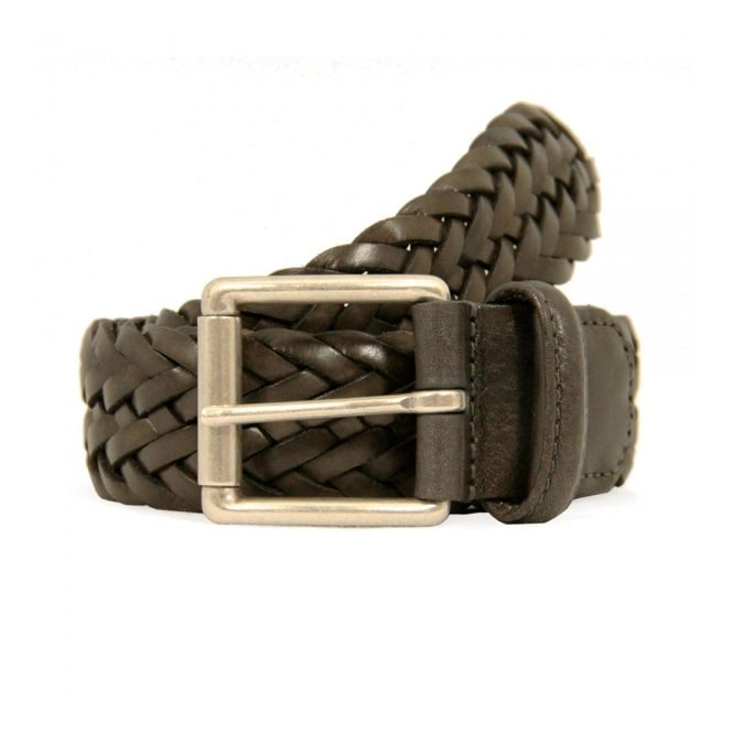 Anderson's Belts Howling Belts And .1097g1 Slb.silv Brn