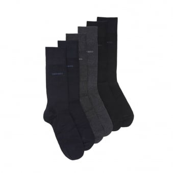 Hugo Boss 3 Pack Multi Socks 50275639