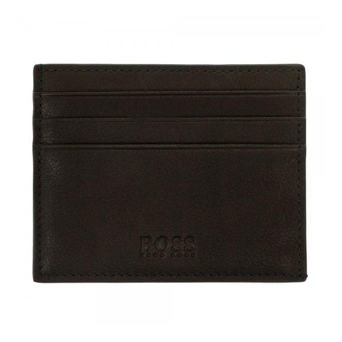 Hugo Boss Black Accessories Hugo Boss Barnty Black Card Holder 50297561