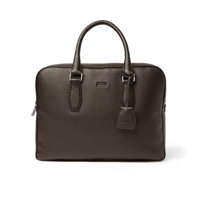 Hugo Boss Black Accessories Hugo Boss Black Briefcase Gardo Dark Brown 50297559 201