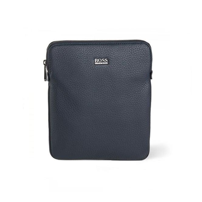 Hugo Boss Black Accessories Hugo Boss Black Gotio Leather Shoulder Bag Navy 50297609 401