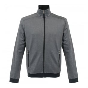 Hugo Boss Black Jacket Zip Black Track Top 50283205
