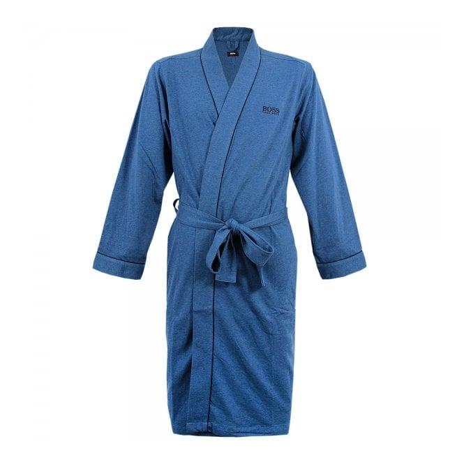 Hugo Boss Loungewear Hugo Boss Black Kimono Open Blue Robe 50229070