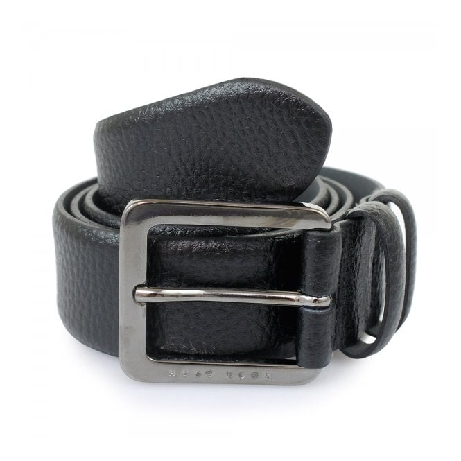 Hugo Boss Black Accessories Hugo Boss Black Leather Belt Cesen 50299663 001