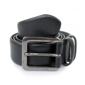 Hugo Boss Black Leather Belt Cesen 50299663 001