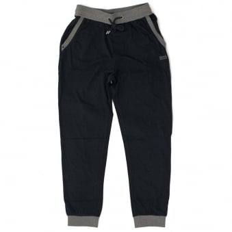 Hugo Boss Black Long Pant Cuffs Navy Track Top 50302788