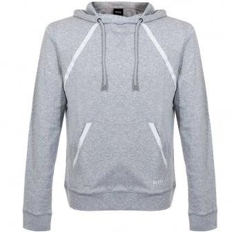 Hugo Boss Black Shirt Hooded Light Grey Sweatshirt 50283208