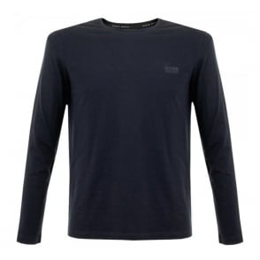 Hugo Boss Black Shirt RN LS Navy T-Shirt 50297317