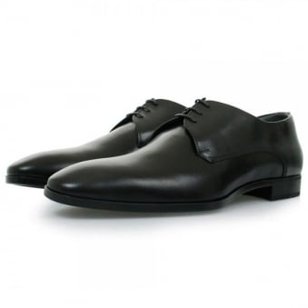 Hugo Boss Black Urbat Black Leather Shoes 50298455