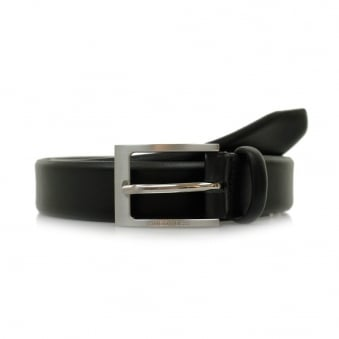 Hugo Boss Brondon Black Leather Belt 50292248