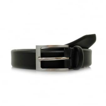 Hugo Boss Brondon Black Leather Belt 50292248
