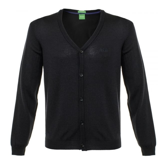 Boss Green Hugo Boss C-Can 01 Navy Cardigan 50323458
