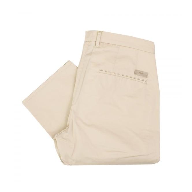 Hugo Boss Green Hugo Boss C-rice 1-1-W Medium Beige Chino Trousers 50308295