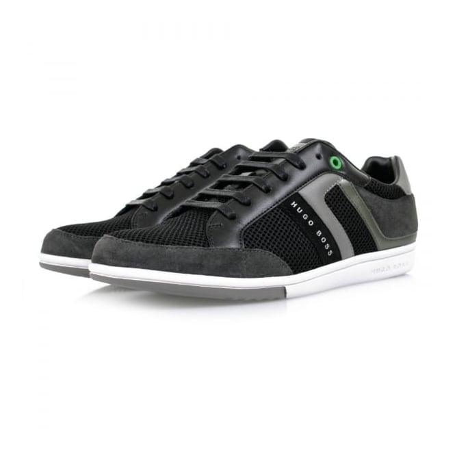 Hugo Boss Green Footwear Hugo Boss Eldorado Reflect Dark Grey Shoes 50311361
