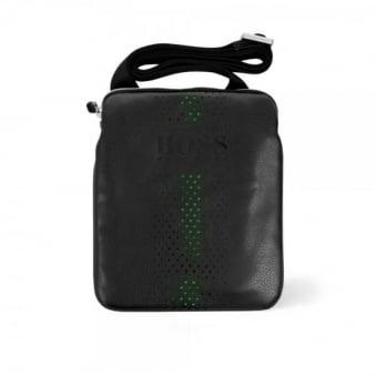 Hugo Boss Grained Black Mini Bag 50298854