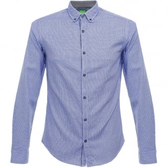 Hugo Boss Green C-Baldasar Navy Shirt 50320146