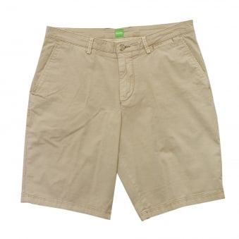 Hugo Boss Green C-Clyde2-5-D Shorts Light Beige 50331189