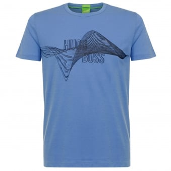 Hugo Boss Green Mid Blue T-shirt 5032929MB