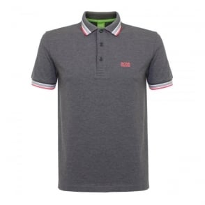 Hugo Boss Green Paddy Medium Grey Polo Shirt 50302557