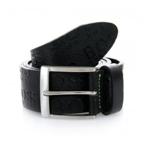 Hugo Boss Green Torialo Black Belt 50213547
