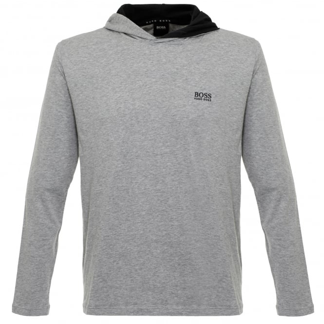 Hugo Boss Loungewear Hugo Boss Hooded Medium Grey T-Shirt 50321771