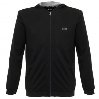 Hugo Boss Jacket Hooded Black Track Top 50297316