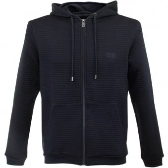 Hugo Boss Jacket Hooded Dark Blue Track Top 50302796