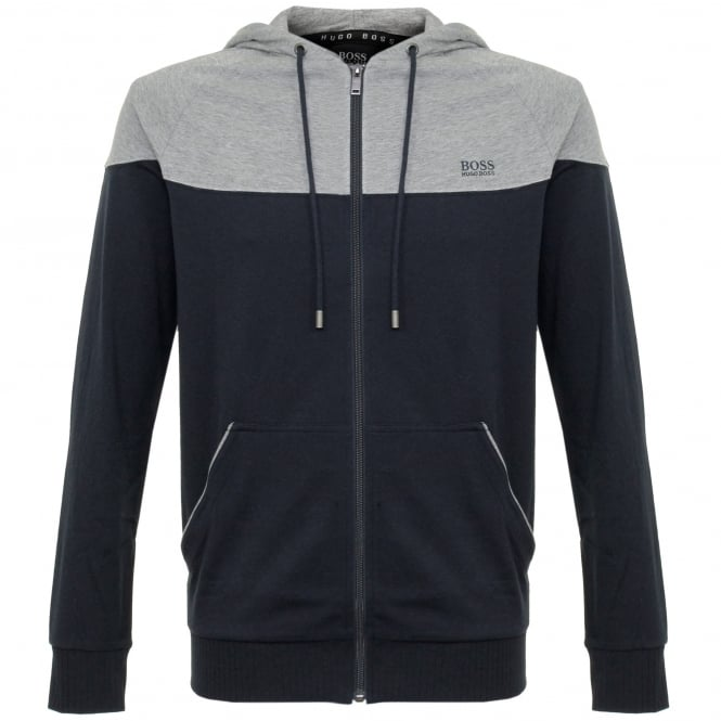 Hugo Boss Loungewear Hugo Boss Jacket Hooded Dark Blue Track Top 50321946