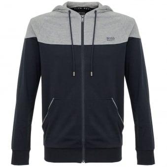 Hugo Boss Jacket Hooded Dark Blue Track Top 50321946