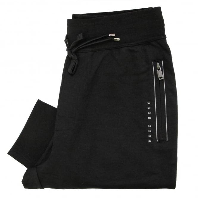 Hugo Boss Loungewear Hugo Boss Long Pant Cuff Black Track Pants 50322097
