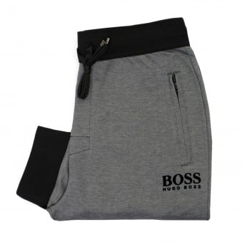 Hugo Boss Long Pant Cuffs Black Track Pants 50326750