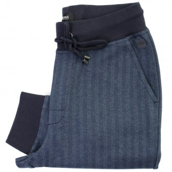 Hugo Boss Long Pant Cuffs Dark Blue Track Pants 50326820