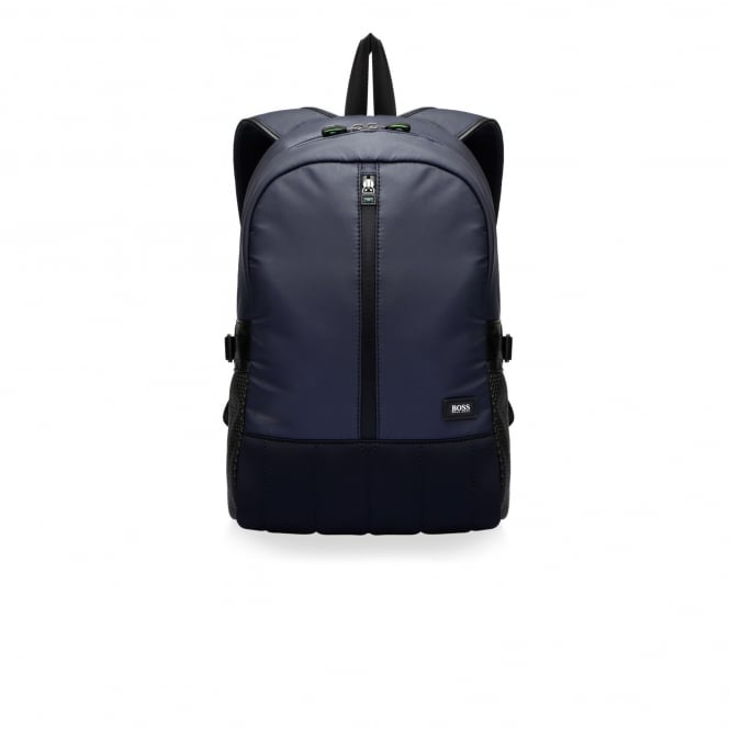 Hugo Boss Green Accessories Hugo Boss Mission Dark Blue Backpack 50320842
