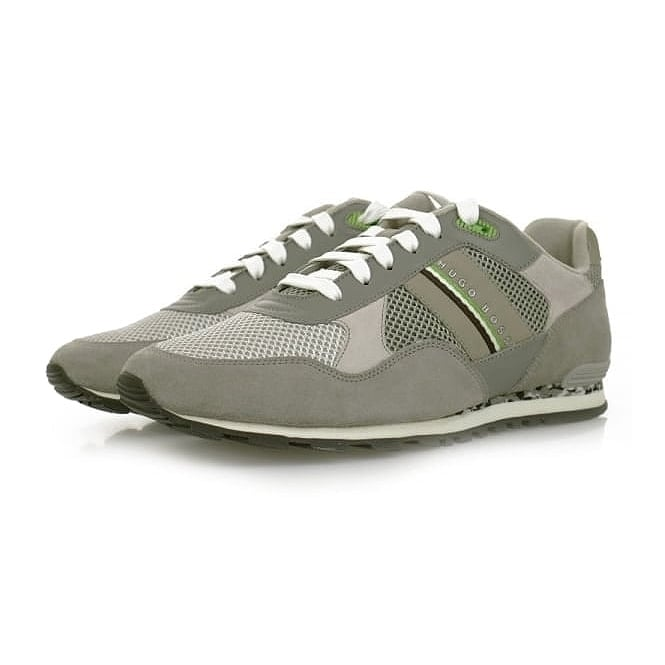 Boss Green Hugo Boss Runcool Light Grey Shoes 50311636