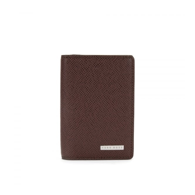 BOSS Hugo Boss Hugo Boss Signature_B Dark Red Card Case 50311749