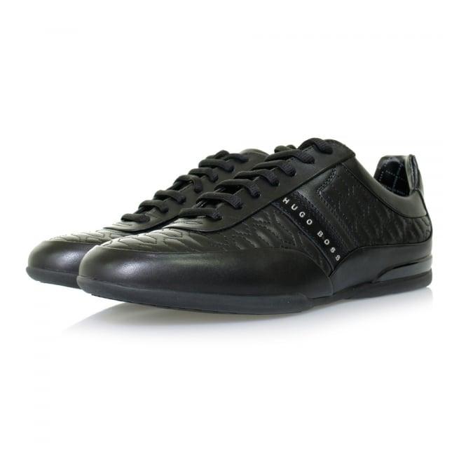 Hugo Boss Green Footwear Hugo Boss Space_Lowp_Itma Black Shoe 50322363
