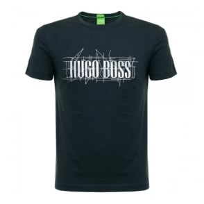 Hugo Boss Tee 1 Navy T-Shirt 50318913