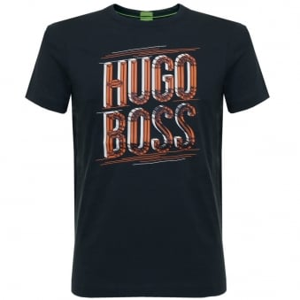Hugo Boss Tee 2 Navy T-Shirt 50318905