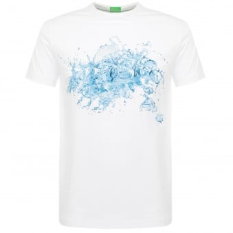 Hugo Boss Tee 8 White T-Shirt 50329420