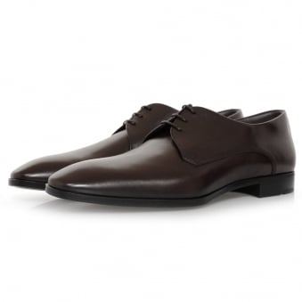 Hugo Boss Urbat Dark Brown Leather Shoe 50298455