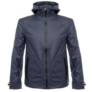 Hunter Original Rubberised Navy Windcheater URO4018BAO