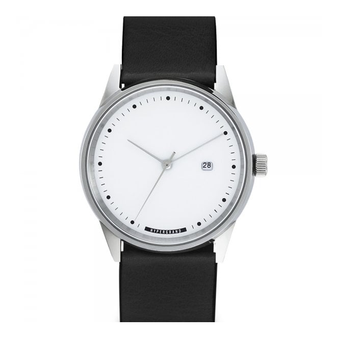 HyperGrand Watches Hypergrand Maverick Silver White Watch CW3HSWBLK