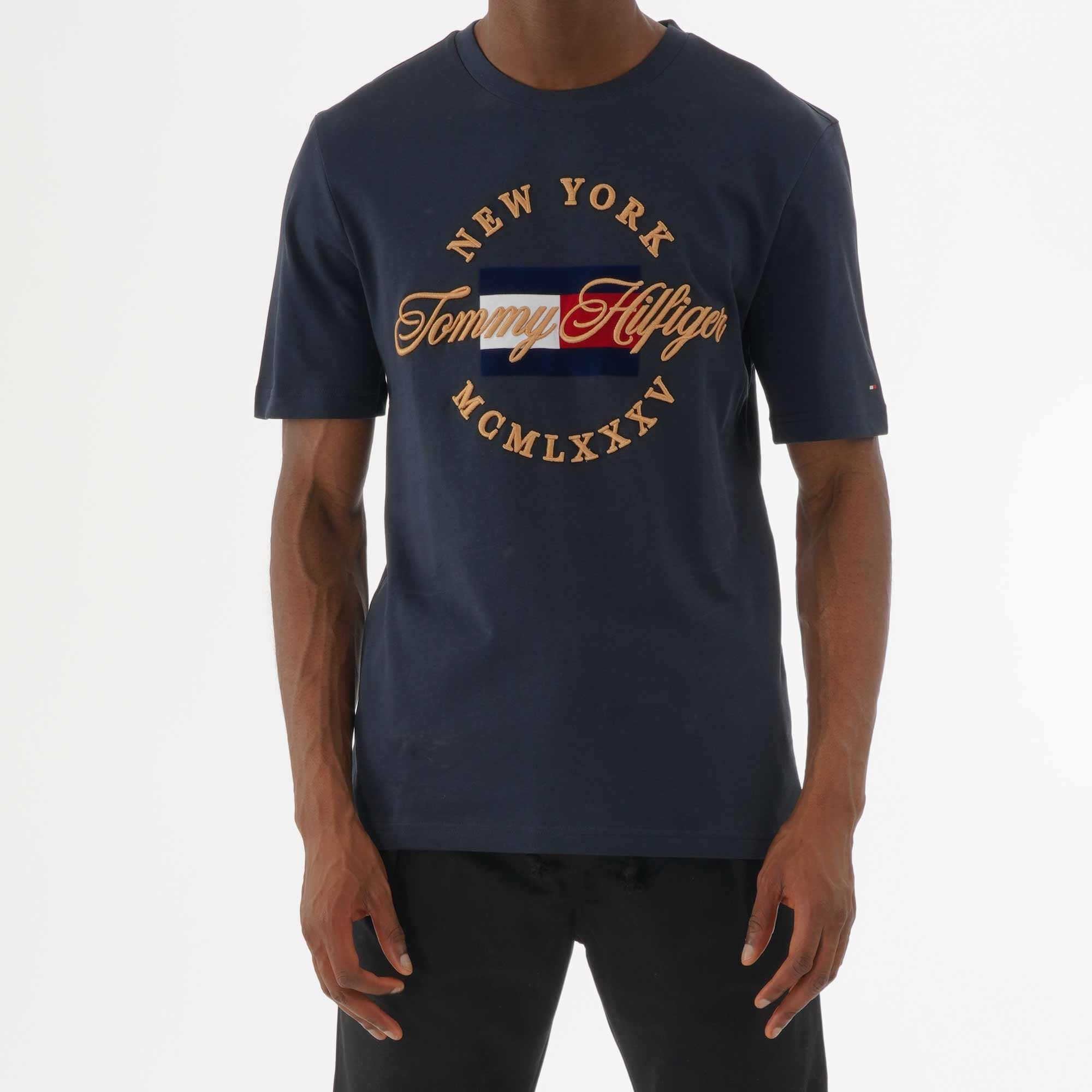 1eb14478 Tommy Hilfiger Icon Relax Fit T-Shirt (Sky Captain) at Dandy Fellow
