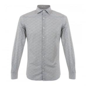 J Lindeberg Dani White Print Shirt 52MC460454322