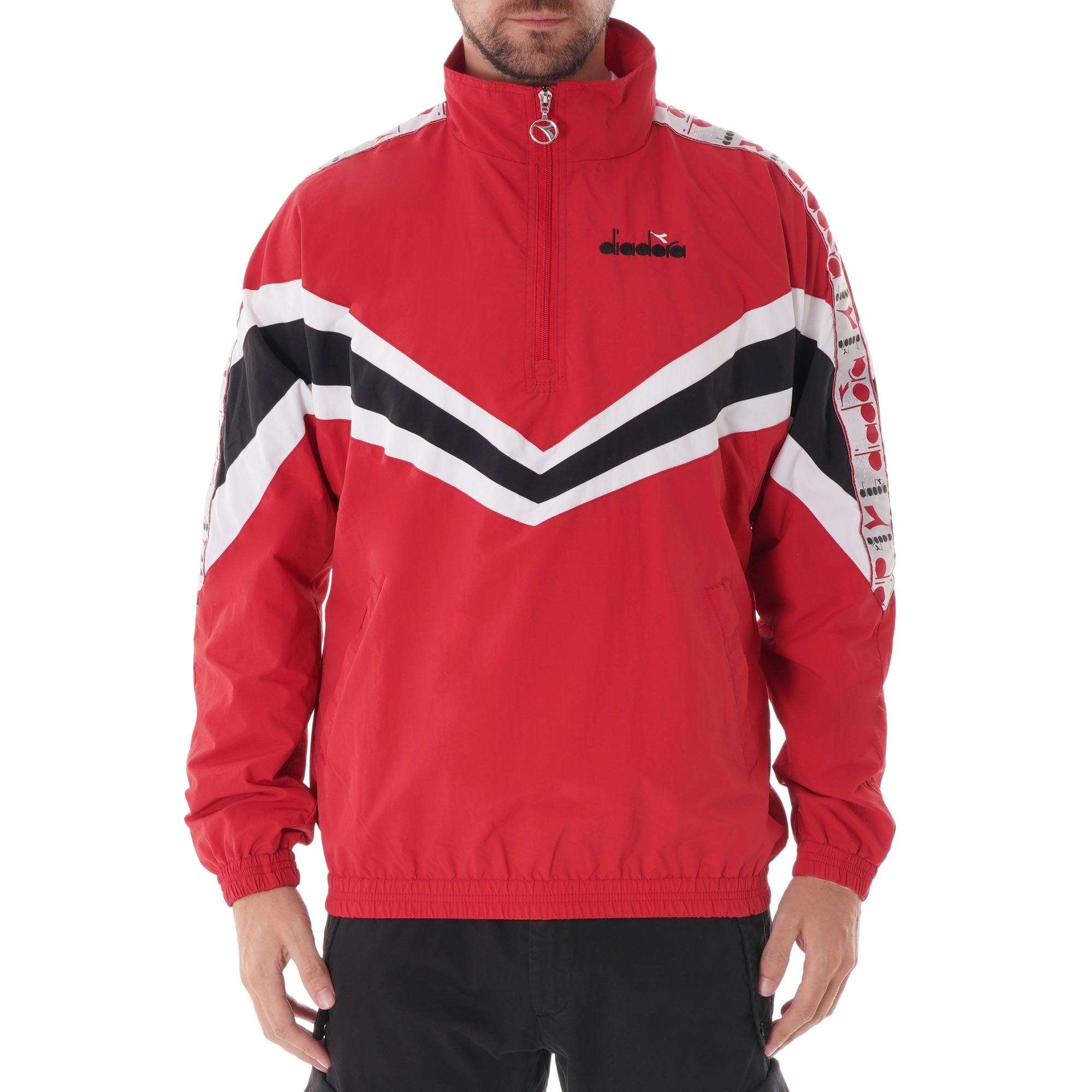 8e95bc12 Jacket 1/2 zip MVB - Red Capital