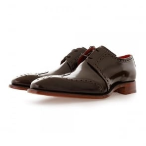 Jeffery West Gibson Pickled Walnut Leather Shoe 1034JW